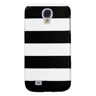 Black and White Striped - Samsung Galaxy S4 Case