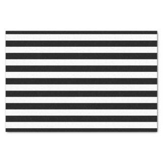 Black and White Striped Tissue Paper