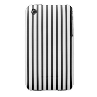 Black and White Stripes iPhone 3 Cover