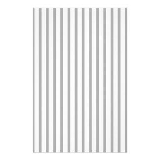 Black and White Stripes Stationery Design