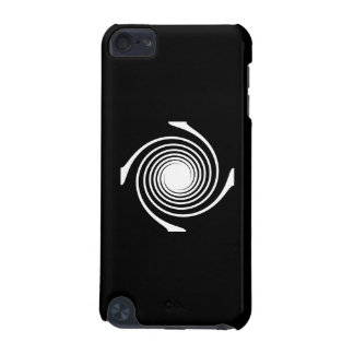 Black and White Swirl Design iPod Touch 5G Cases