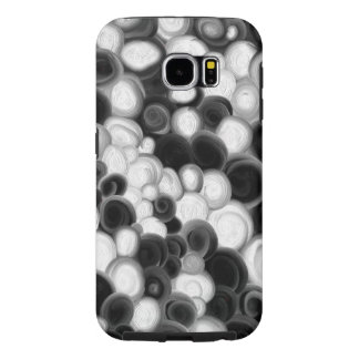 Black and white swirls case