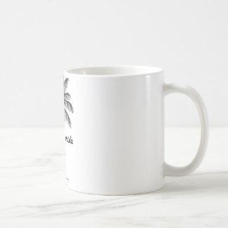 Black and White Tampa & Palm design Coffee Mug