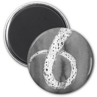 Black and White Tentacle Magnet