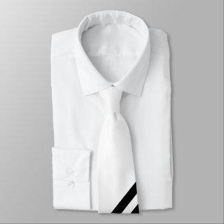Black-and-white Tie