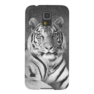 Black and White Tiger Art - Samsung Galaxy S5 Case