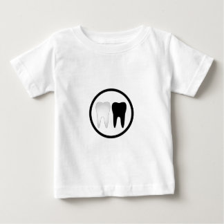 Black and white tooth baby T-Shirt