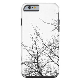Black and White Tree Branches iPhone Case Tough iPhone 6 Case