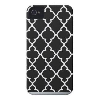 Black and White Trellis...Blackberry case