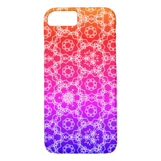 Black and White triangular pattern iPhone 8/7 Case