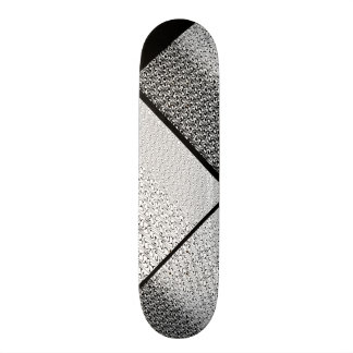 Black and White Tribal Pattern Customizable Deck 0 21.3 Cm Mini Skateboard Deck