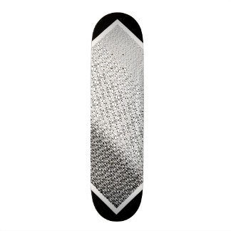 Black and White Tribal Pattern Customizable Deck 2 Skateboard