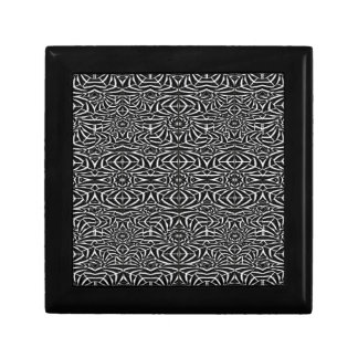 Black and White Tribal Pattern Gift Box
