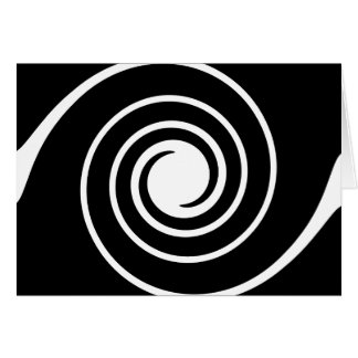 Black and White Twist. Card