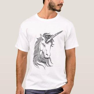 Black and White Unicorn T-Shirt