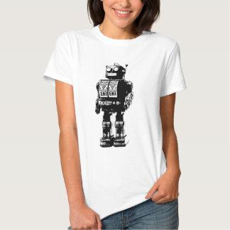 Black and White Vintage Robot Tshirts
