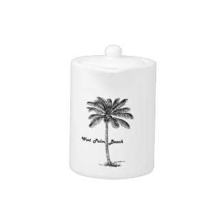 Black and white West Palm Beach & Palm design