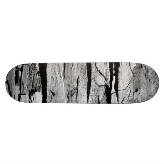 Black and White Wood Print 20 Cm Skateboard Deck