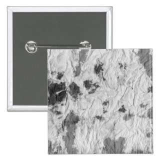black and white wrinkled paper towel image pinback button