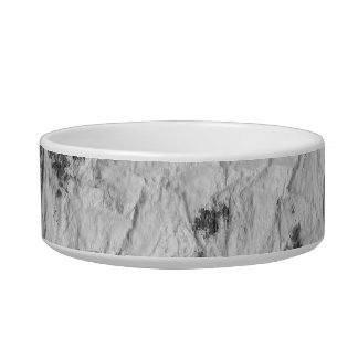black and white wrinkled paper towel image pet bowls