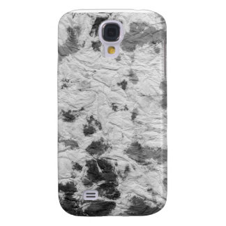 black and white wrinkled paper towel image samsung galaxy s4 covers