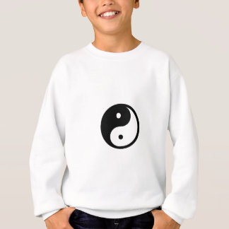 Black and white Yin/Yang symbol apparel Sweatshirt