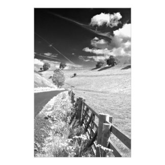 Black and white Yorkshire Stationery Paper