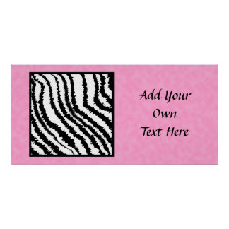 Black and White Zebra Print Pattern.
