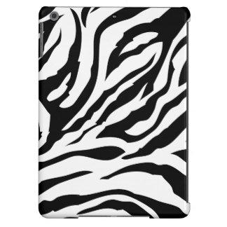 Black and White Zebra Stripes iPad Air Case