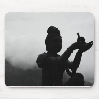 Black and White Zen Mousepad