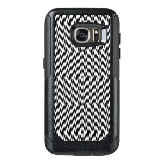 Black and White Zig Zag OtterBox Samsung Galaxy S7 Case