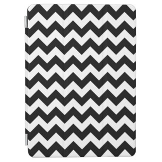 Black and White Zigzag Chevron Pattern iPad Air Cover