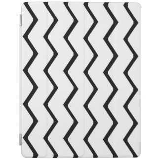 Black and White Zigzag Pattern iPad Smart Cover iPad Cover