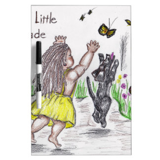 Black and Yellow butterfly Dry Erase Board