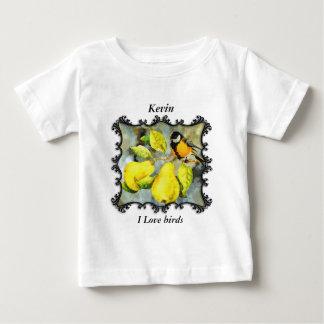 Black and yellow canary mockingbirds baby T-Shirt