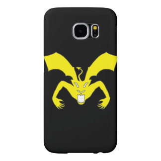 Black And Yellow Devil Samsung Galaxy S6 Cases