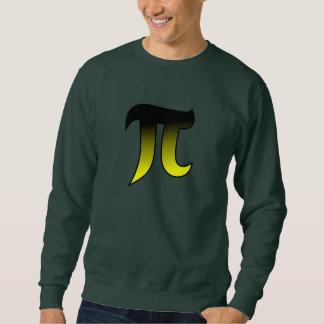 Black and Yellow Greek math Design 1 Sweatshirt