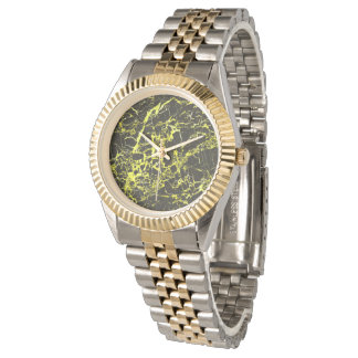 Black and Yellow Marble, Watch