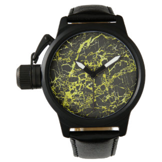 Black and Yellow Marble, Watches