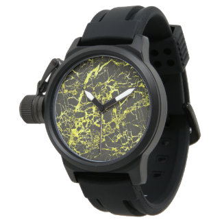 Black and Yellow Marble, Wristwatches
