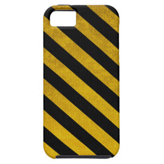 Black and Yellow Parking Stripes iPhone 5 (Vibe) Tough iPhone 5 Case