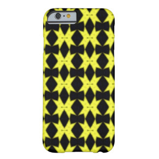 Black and yellow stars barely there iPhone 6 case