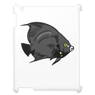 Black Angel Fish iPad Covers