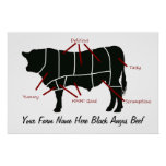 Black Angus Beef Farm Butcher Cuts