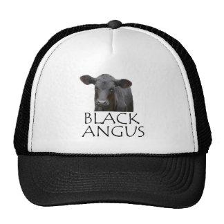 Black Angus Cow Cap