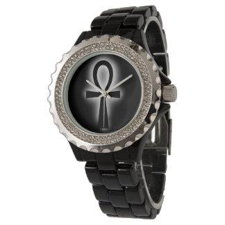 Black Ankh Watch by DAP Apparel