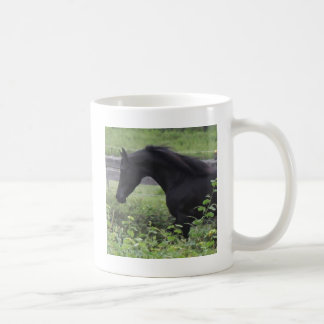 Black Arabian Stallion Coffee Mug
