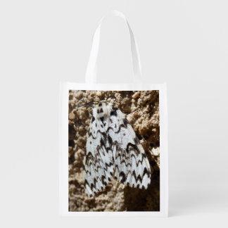 Black Arches Moth Reusable Bag