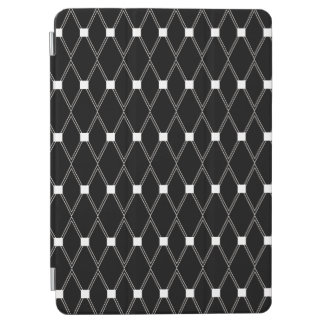 Black Argyle Lattice iPad Air Cover