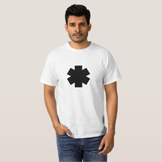 Black Asterisk Value Tee